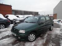 RENAULT CLIO RT 1.4 PETROL LOW MILEAGE 12 MONTHS MOT 5 DOOR HATCHBACK