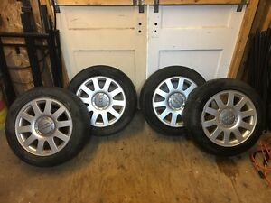 Audi rims and tires 205/55R16