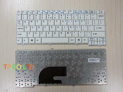 New Genuine for Acer Aspire One A110 A150 ZG5 Series white Keyboard US