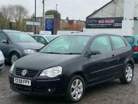 * 58 2009 VW VOLKSWAGEN POLO 1.2L MATCH 3 DOOR + 11 MONTHS MOT + IDEAL 1ST CAR *