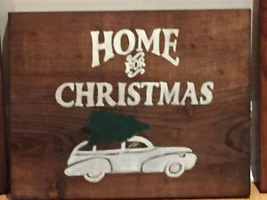 Unique hand painted sign....custom orders available