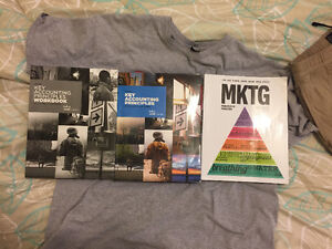 First year marketing & accounting text books