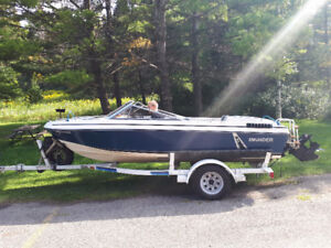 17' BOW RIDER BOAT FOR SALE
