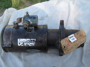 Case 1978-1982 Rebuilt Starter for 450 Crawler-Loader Diesel