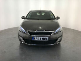2014 64 PEUGEOT 308 ALLURE SW E-HDI DIESEL 1 OWNER SERVICE HISTORY FINANCE PX