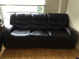 Recliner couch and loveseat Cambridge Kitchener Area image 1
