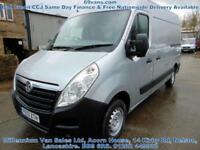 2013 13 VAUXHALL MOVANO MWB, ONE FLEET OWNER- LEX LEASE, FACTORY SILVER, FSH