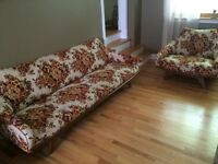 Antique sofa and chair (vintage 100 years old mint condition)