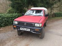 Toyota hilux diesel 4x4 2wd pickup wanted
