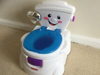 FisherPrice Potty, not been used