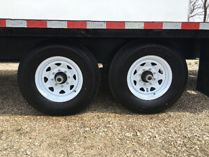 102x20 Plus 5 ft Beavertail Sure Trac Gooseneck Trailer Kitchener / Waterloo Kitchener Area image 7
