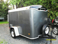 2008 haulmark 5x8 cargo trailer.good shape.