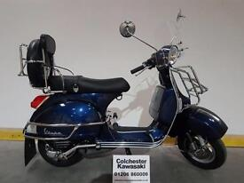 """Piaggio Vespa PX 150 """"62 Plate"""" Nice Condition and Lots of Accessories Fitted"""