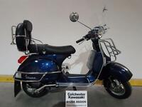 "Piaggio Vespa PX 150 ""62 Plate"" Nice Condition and Lots of Accessories Fitted"