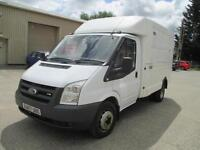 2007 Ford Transit luton 2.4TDCi Duratorq 100PS 350 MWB Direct from BT 1 owner