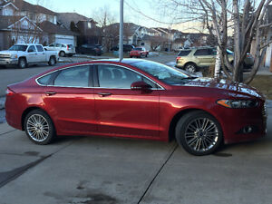 AWD 2015 Ford Fusion SE Ecoboost