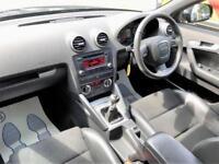 2010 Audi A3 1.6 S line Sportback 5dr Petrol black Manual