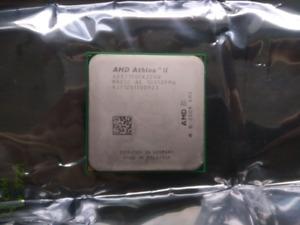 Dual-Core AMD Athalon II X2 215 (Rev. C2) CPU w/ Cooler; $10 OBO