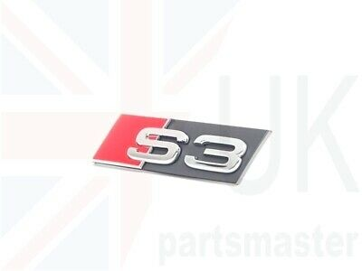 New Genuine AUDI TT 03-06 Front Grill QUATTRO Emblem Badge Chrome 8N0853736A2ZZ
