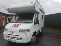 Swift Sundance 520 4 berth with overcab bed, solar and night heater