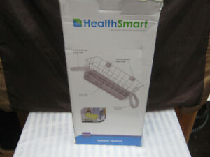 healthsmart walker basket. brand new. never used. price firm.