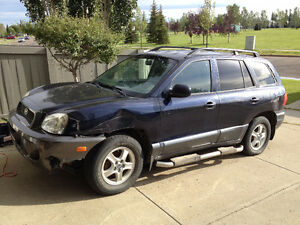 2004 Hyundai Santa Fe. Must Sell ASAP-$1200 FIRM