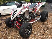Yamaha raptor 700 r gytr road legal best around perfect example quad Atv