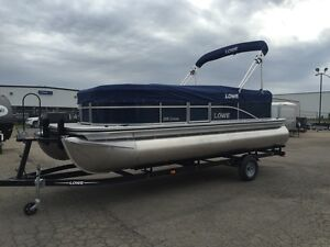 *BEST VALUE IN THE PROVINCE* 2016 Lowe Ultra 200 Cruise Pontoon