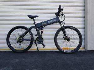 Dyson Bikes Folding 26- inch electric bike
