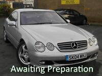 2004 (04) Mercedes-Benz CL 500 Coupe