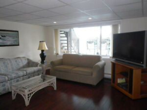 Available July 1st, 1 bedroom furnished suite overlooking pool