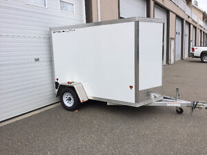 2015 5x8 Stealth Aluminum Enclosed Cargo Trailer