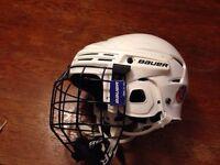 Kids small hockey helmet