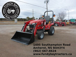 The toughest sub-compact tractor out there.