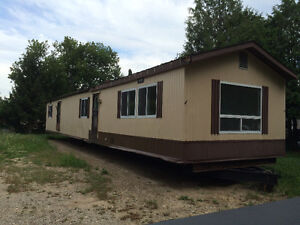 Mobile homes on lots