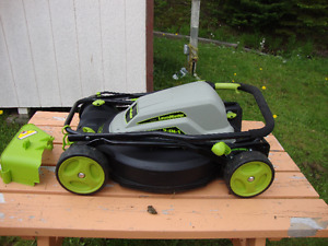 LawnMaster, Electric lawnmower