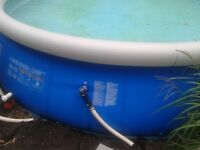 Piscine gonflable 21 pieds