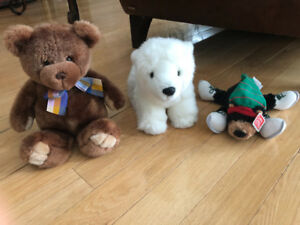 Stuffed animals lot, all new with tags