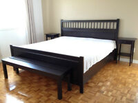 IKEA king size bed frame - Moving Sale