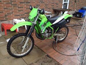 2001 250 cc Kawasaki kdx