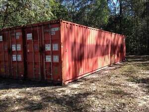 shipping container - 40 ft high top in seaworthy condition Wamuran Basin Moreton Area Preview