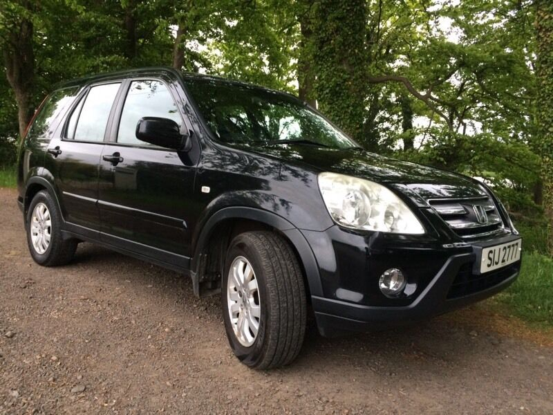honda cr v i cdti sport 2005 2 2 diesel black reduced in longniddry east lothian gumtree. Black Bedroom Furniture Sets. Home Design Ideas