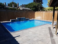 Pool construction labourers wanted.