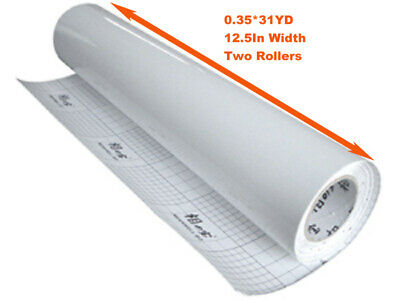 2 Rolls Glossy Vinyl Cold Laminating Film For Laminator 1116x12.5in 3mil
