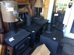 Good Used  Wood Stoves   H