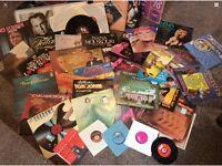 VINYL LPS & 78 RECORDS ASSORTMENT