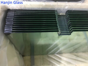 Tempered glass for showers,glass railings,furnitures etc.