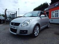 2007 Suzuki Swift 1.6 VVT Sport 3dr 12 months mot,Warranty,Px welcome,Finance...