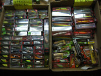 new/used fishing tackle, rods, reels, lures. line, soft plastics