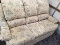 G-plan Three Piece Suite, Three Seater Sofa, One Recliner & One Chair